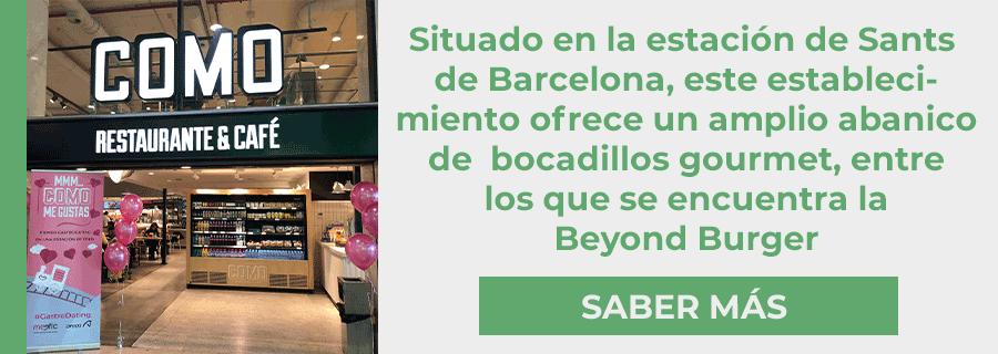 Compra la beyond burger en barcelona