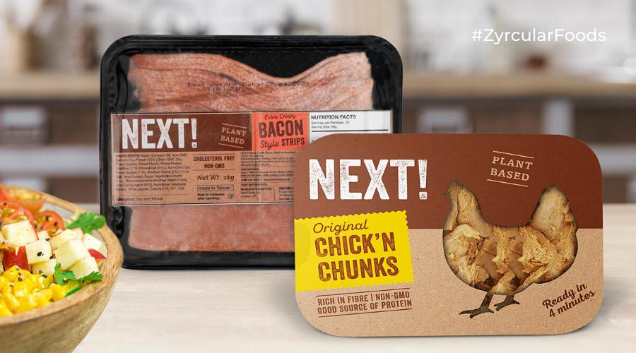 Tiras de pollo vegetal   Next!